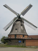Malchow: Windmühle